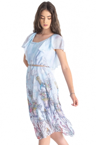 Rochie Iris Bleu