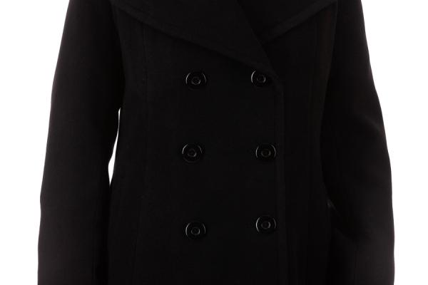 Palton Nely Negru