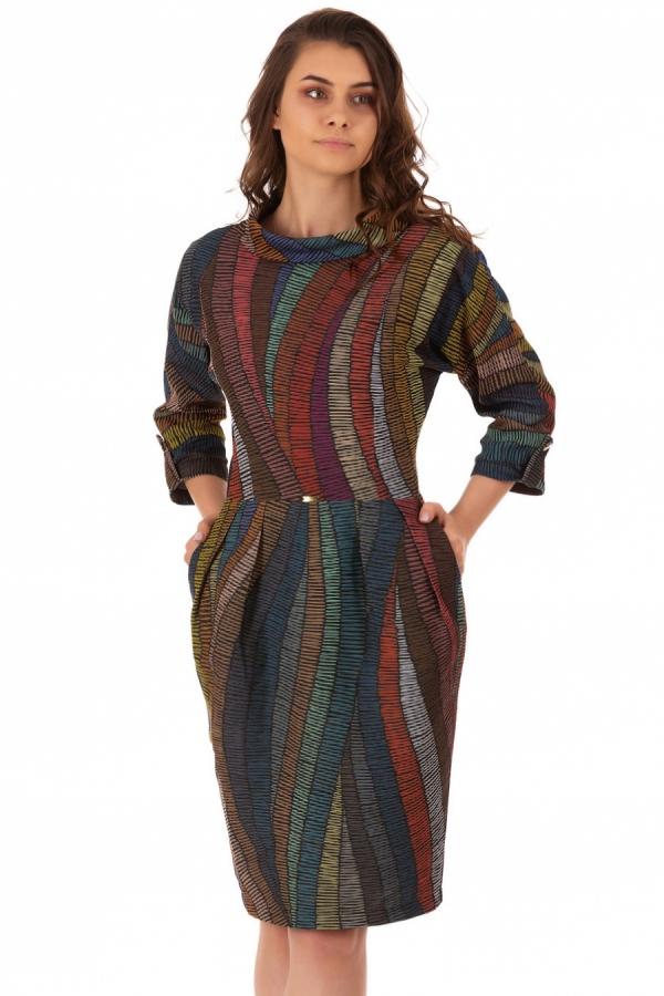 Rochie Gaby Multicolora