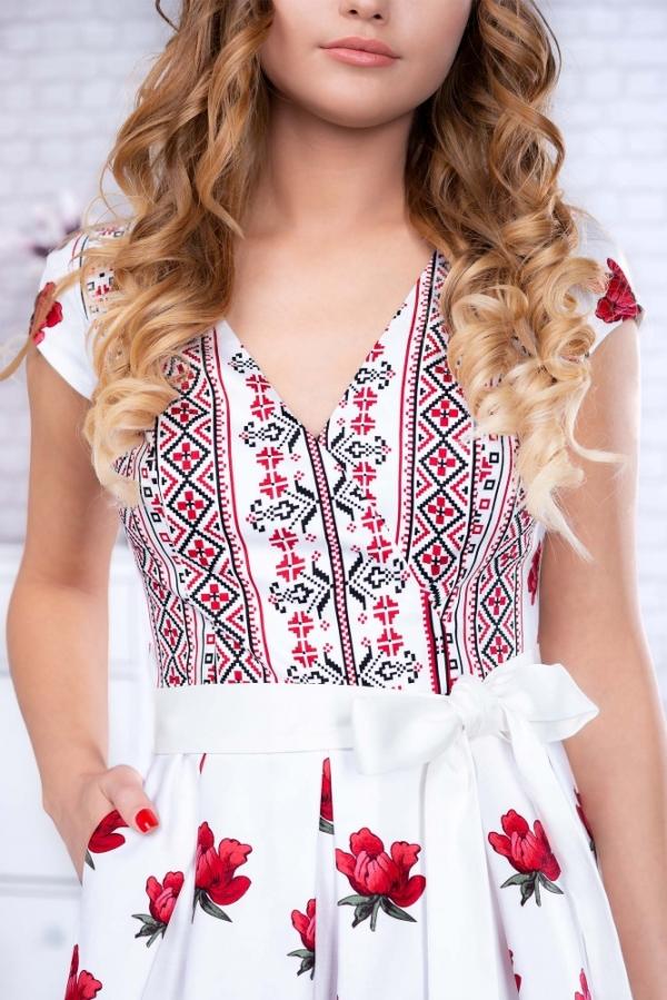 Rochie Mandruta Alba