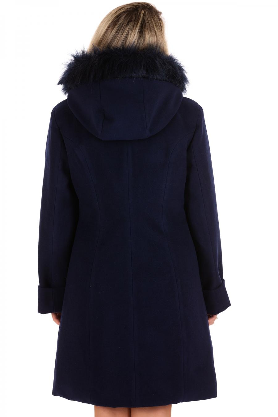 Palton Dalia Bleumarin