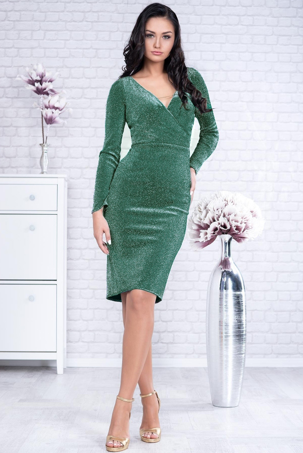 Rochie Timeea Verde